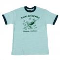 トップス MILITARY TEE [NAVAL AIR CENTER] [MC9002]