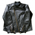 THE STEAM LOCOMOTIVE HORSE HIDE LEATHER JACKET [SJ001]
