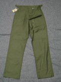 THE REAL McCOY'S SATEEN TROUSERS[MP9163]